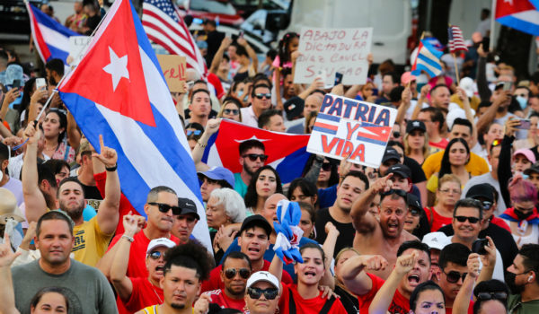Estas fueron las primeras declaraciones de Biden sobre las protestas en Cuba