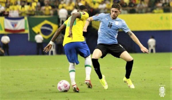 Uruguay cayó goleado ante Brasil