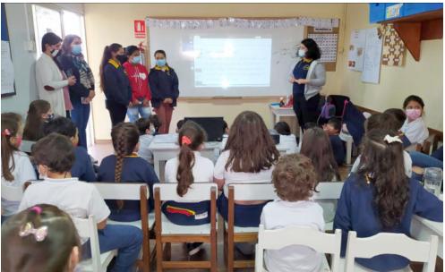 Estudiantes del Liceo Nº 2 realizaron un taller para escolares sobre calentamiento global – El Avisador